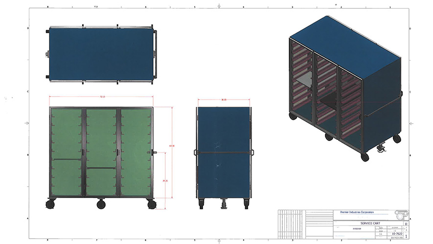 TRANSPORT STORAGE CARTS-1